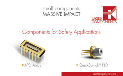 Exhibitor novelties LASER COMPONENTS GmbH